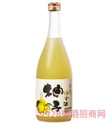 芳歌果酒柚子酒720ml