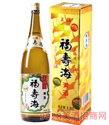 福寿海清酒本酿造1.8L