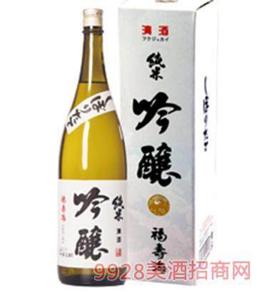福寿海清酒纯米吟酿1.8L