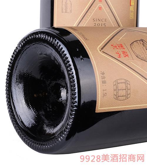 青岛墨藏老酒21度1.5L
