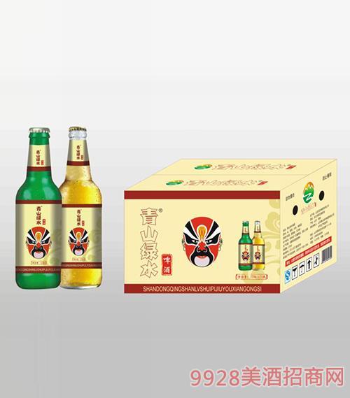 青山绿水啤酒310ml箱装