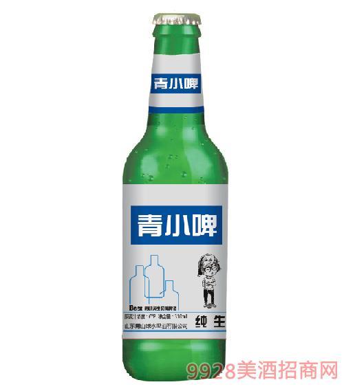 青山绿水啤酒青小啤纯生6度310ml