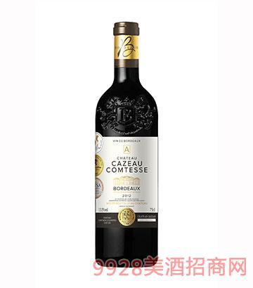 JK031伯爵城堡干红葡萄酒