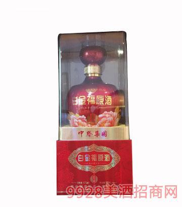 贵州加多福白金福原酒窖藏浓香型42度500ml