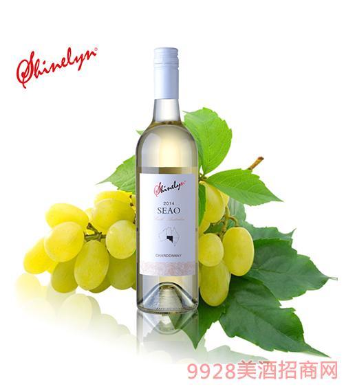 澳大利亚轩奈诗澳干白葡萄酒13度750ml