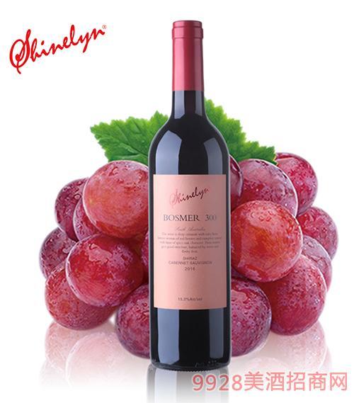 澳大利亚轩奈300干红葡萄酒15度750ml
