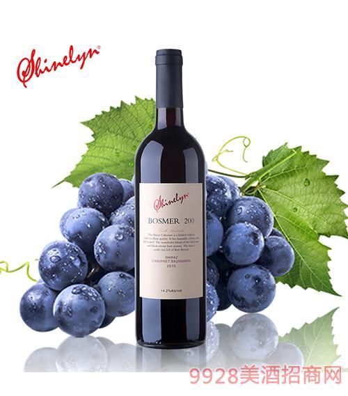 澳大利亞軒奈200干紅葡萄酒14.2度750ml