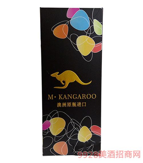 米袋鼠葡萄酒礼盒