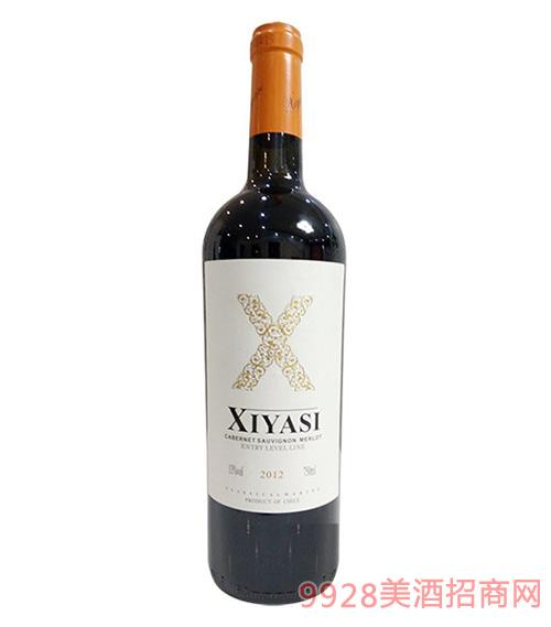 茜娅丝珍藏干红葡萄酒750ml