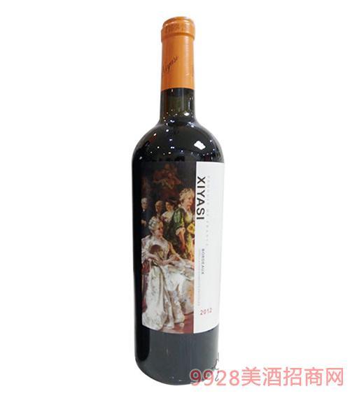 茜娅丝赤霞珠干红葡萄酒750ml