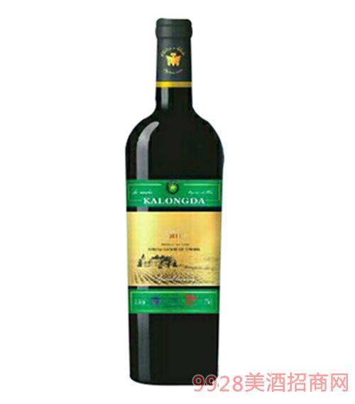 西班牙卡隆达原瓶进口有机干红葡萄酒750ml