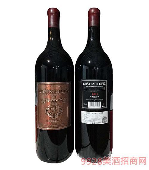 洛菲克原瓶进口有机干红葡萄酒5L