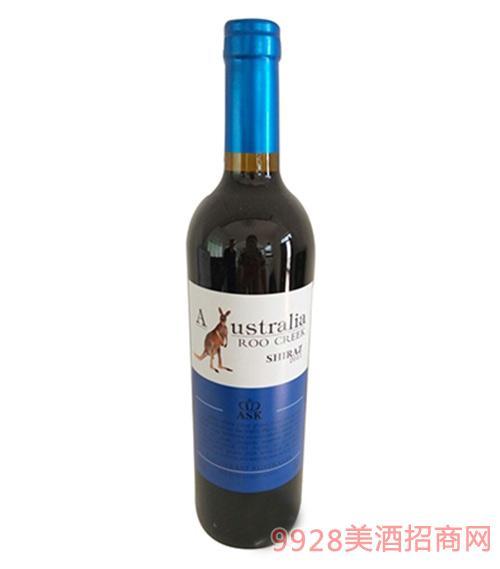 飞奔袋鼠赤霞珠红葡萄酒750ml