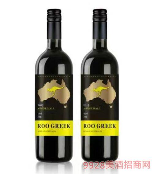 袋鼠赤霞珠干红葡萄酒750ml