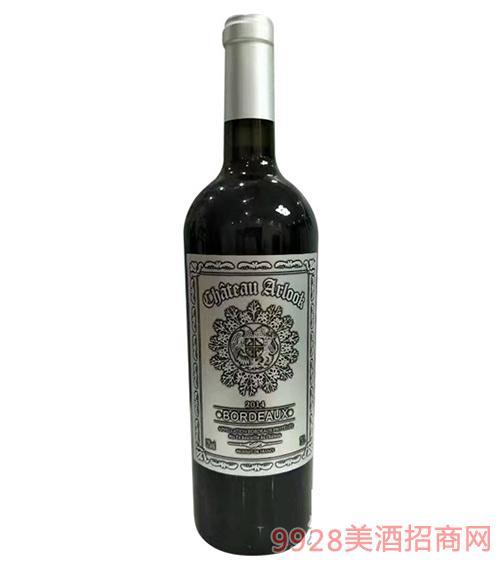 阿洛克干红葡萄酒(银标)
