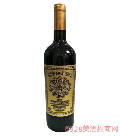 阿洛克干红葡萄酒(金标)750ml