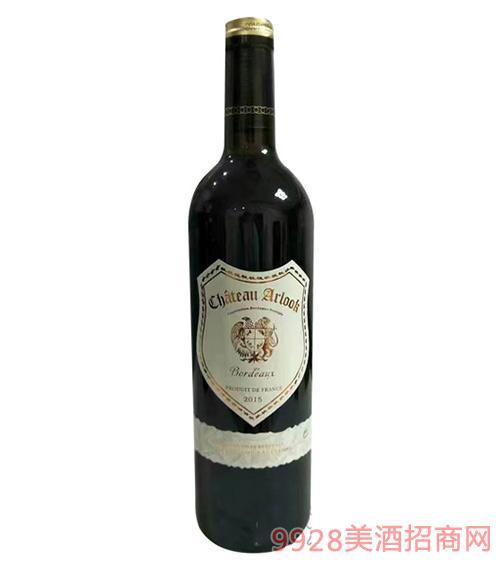 阿洛克干红葡萄酒(白标)750ml