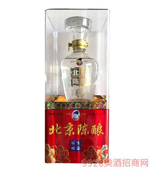 房氏北京陈酿酒生态原酿酒38度500ml