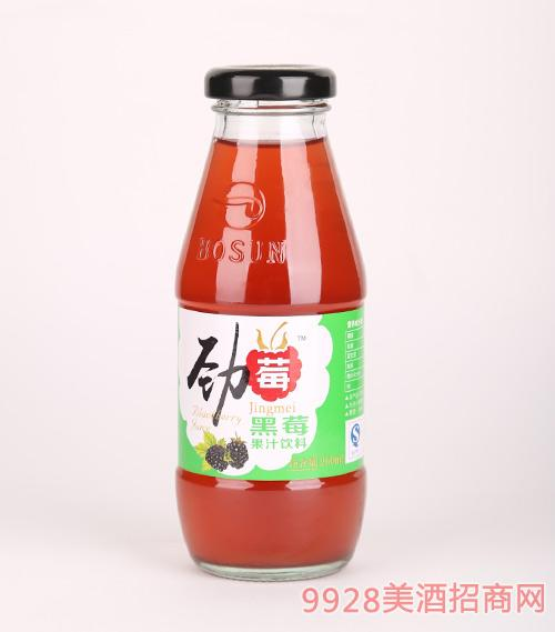 劲莓黑莓果汁饮料260ml