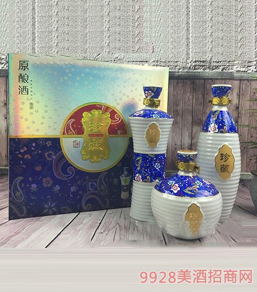大豫鸿福黄酒私藏定制原酿酒