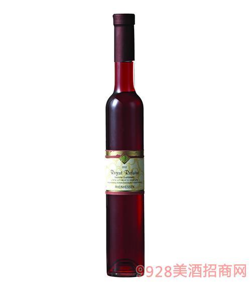 凯莱茵蓝冰红葡萄酒11度375ml
