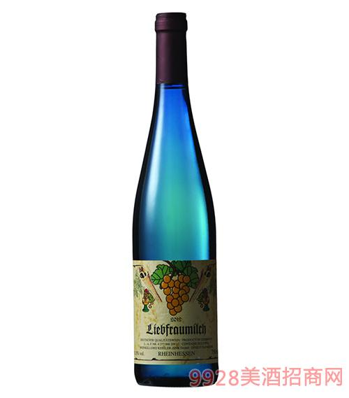 凯莱茵半甜白葡萄酒11.5度750ml