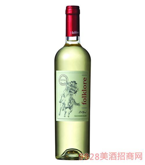 骑士长相思干白葡萄酒13度750ml