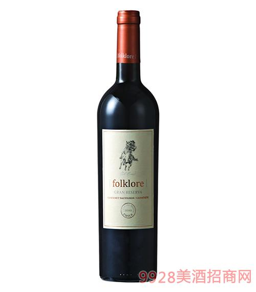 骑士传说格兰珍藏干红葡萄酒13.5度750ml