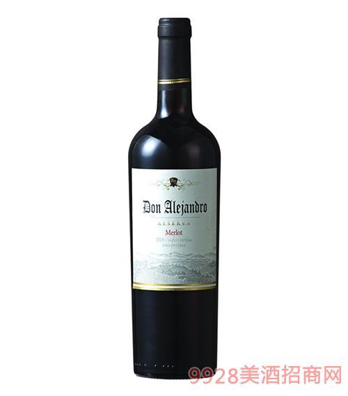 雷瀚德罗珍藏梅洛干红葡萄酒13.5度750ml