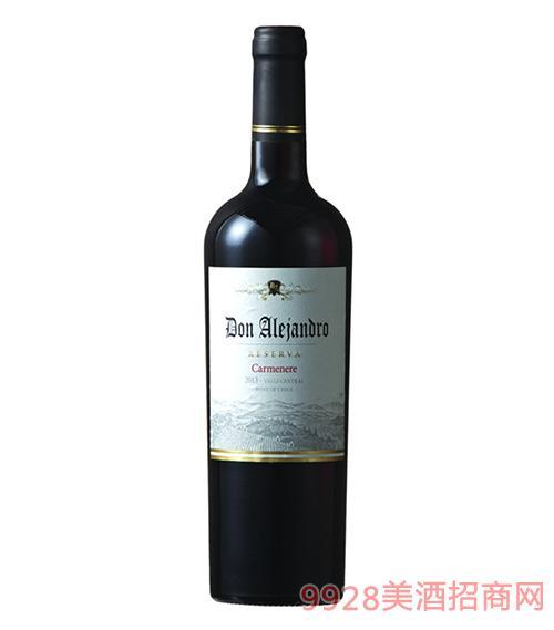雷瀚德罗珍藏卡曼尼干红葡萄酒13.5度750ml