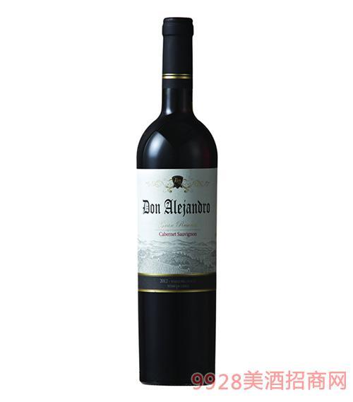 雷瀚德罗格兰珍藏赤霞珠干红葡萄酒14度750ml