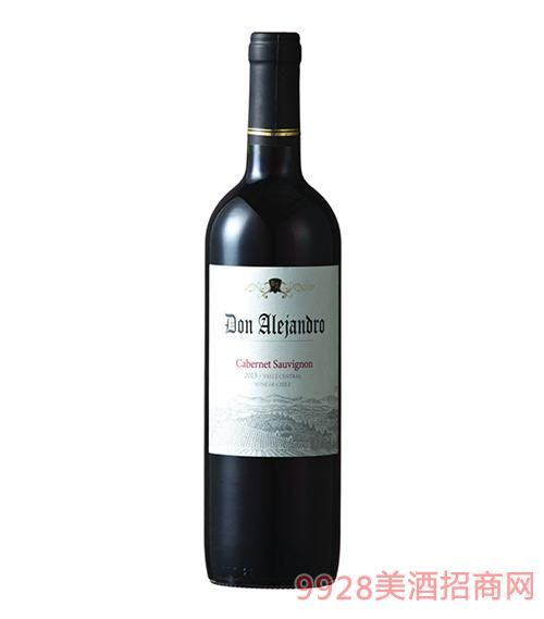 雷瀚德罗赤霞珠干红葡萄酒13.5度750ml