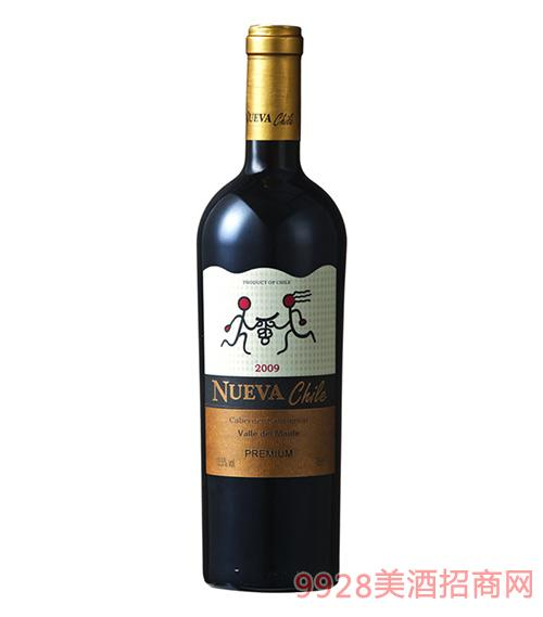 智韵特优级赤霞珠干红葡萄酒13.5度750ml