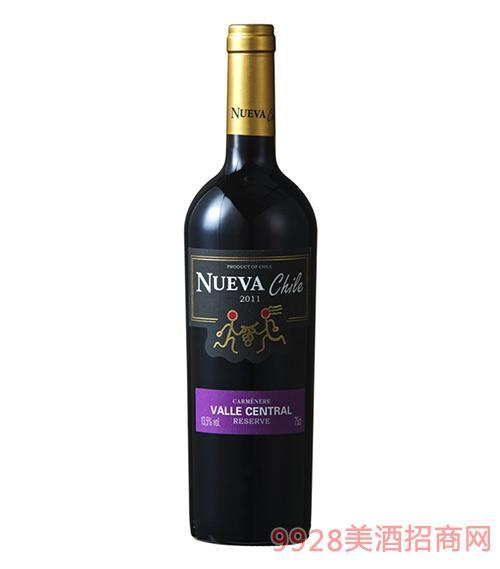 智韵珍藏卡曼尼干红葡萄酒13.5度750ml