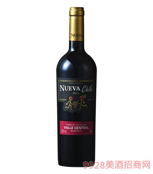 智韵珍藏赤霞珠干红葡萄酒13.5度750ml