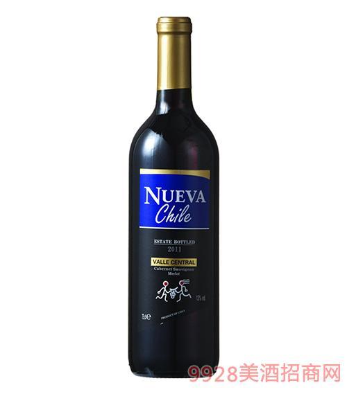 智韵赤霞珠梅洛干红葡萄酒13度750ml