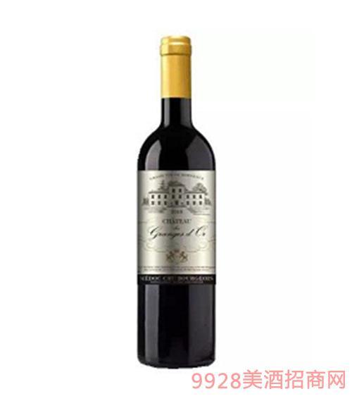 格雅城堡干红葡萄酒12.5度750ml