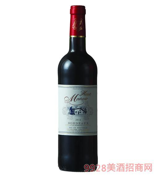 红亭庄园干红葡萄酒13.5度750ml