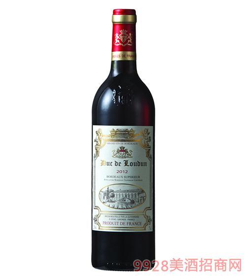 罗顿公爵波尔多干红葡萄酒13度750ml