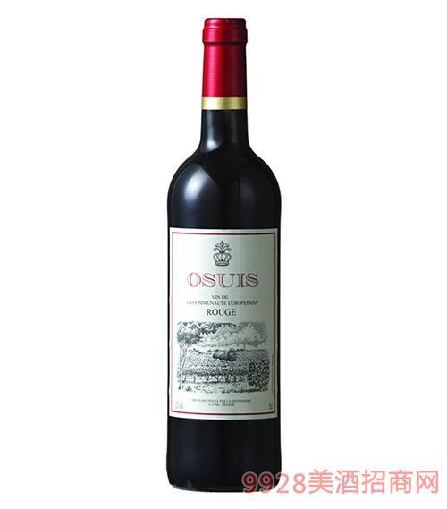 欧丝斐干红葡萄酒12度750ml