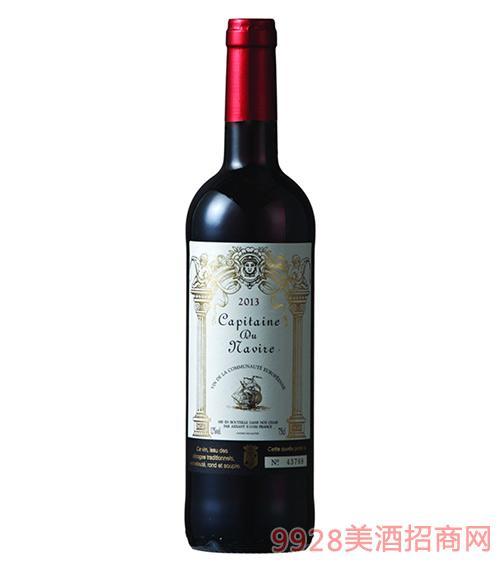 龙船航行家盛世干红葡萄酒12度750ml