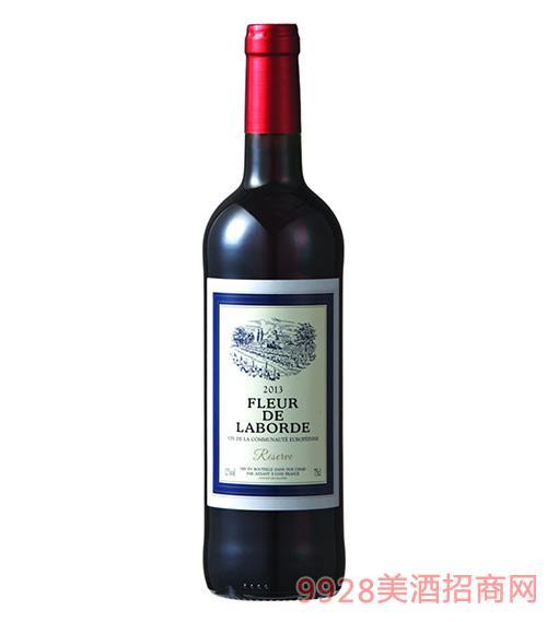 拉博之花珍藏干红葡萄酒12度750ml