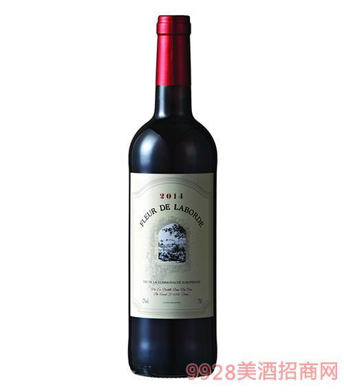 拉博之花干红葡萄酒12度750ml