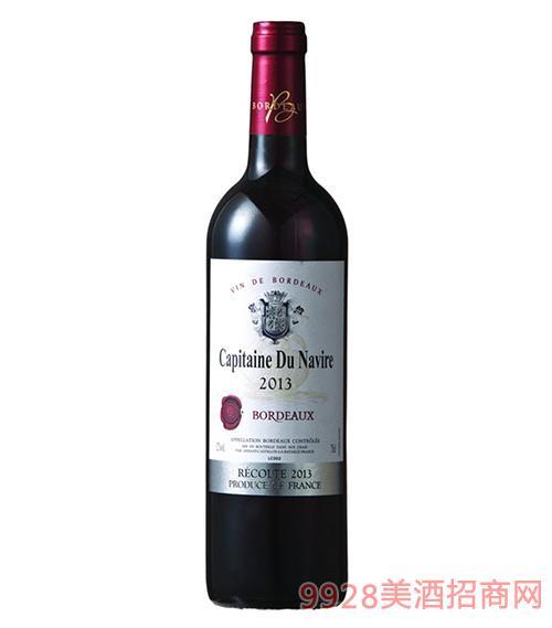 龙船航行家波尔多干红葡萄酒银标12度750ml