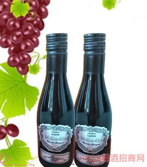 法国圣美罗干红葡萄酒12度187ml