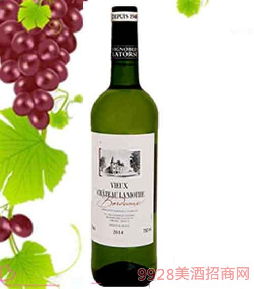 法国拉蒙特古堡干白葡萄酒12度750ml