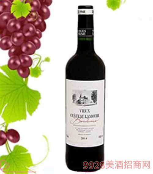 法国拉蒙特古堡干红葡萄酒12.5度750ml