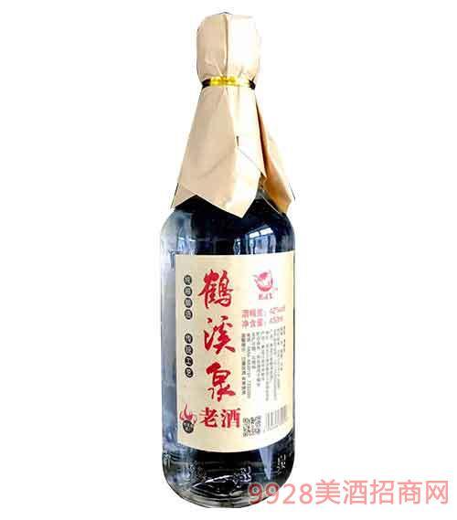 黑龙江鹤溪泉老酒42度450ml