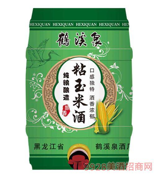 黑龙江鹤溪泉粘玉米酒