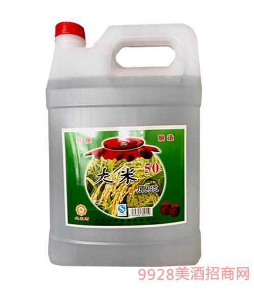 纯粮酿造大米原浆酒50度